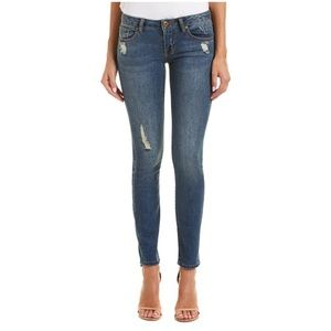 Cabi Style 5087 Distressed Skinny Jeans 10